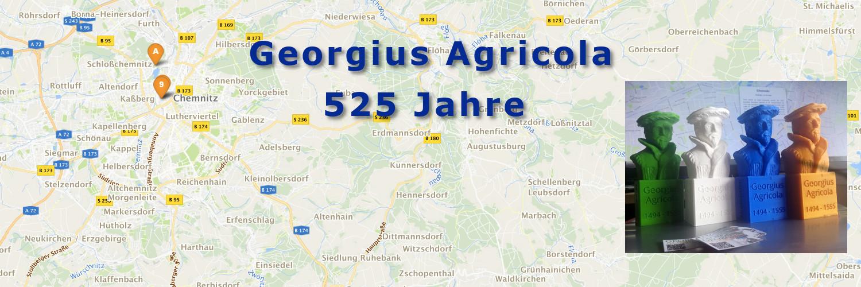 525 Jahre Georgius Agricola